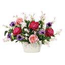 光触媒 造花 フラワー 薔薇 バラ 観葉植物 ローズベール 造花 フェイクフラワー 花 アートフラワー アーティフィシャ…
