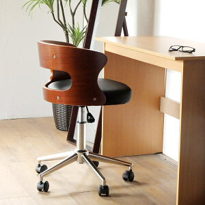 パソコンチェア 北欧 木製 レザー パソコン 書斎 チェア キャスター付き椅子 回転 椅子 オフィスチェア キャスター 回転チェア 学習椅子 昇降チェア 昇降式 イス チェアー レザーチェア オフ