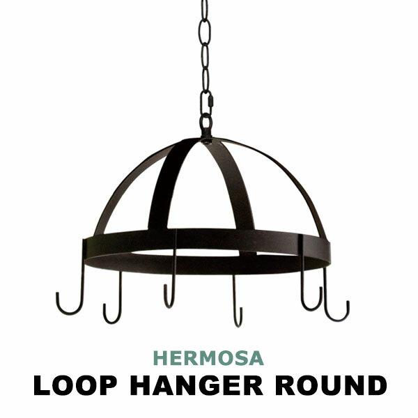 ハンガーフック ドライフラワー アンティーク 飾る 植物 フック 吊り下げ ディスプレイ 収納 ラウンド スチール ブラック 黒 エアプランツ 丸 丸型 円形 雑貨 おしゃれ GD-007 ROUND LOOP HANGER