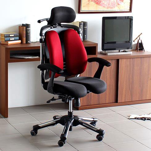 パソコンチェア 疲れにくい オフィスチェア ロッキング ハイバック おすすめ 肘掛け椅子 腰痛対策 チェア 腰痛 椅子 骨盤矯正 キャスター デスクチェア リクライニング 快適 高さ 角度 調節 OAチェア 肘付き HARA Chair ハラチェア Nietzsche II ニーチェ2