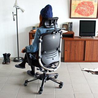 パソコンチェア疲れにくいオフィスチェアロッキングハイバックおすすめ肘掛け椅子腰痛対策チェア腰痛椅子骨盤矯正キャスターデスクチェアリクライニング快適高さ角度調節OAチェア肘付きHARAChairハラチェアNietzscheIIニーチェ2