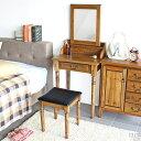 ドレッサー アンティーク 姫系 デスク 椅子付き おしゃれ 収納 可愛い 鏡 スツール付き チェア付き コンセント 北欧 …