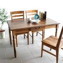 ダイニングテーブル 木製 カフェ風 幅120 カントリー 120 無垢 引き出し 120cm Table Dining 収納 リビングテーブル アンティーク カフェテーブル テーブル 単品 パイン材