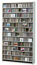 CDラック スリム 大容量 おしゃれ CD DVD 収納 ラック dvd収納ラック ディスプレー 棚 cd収納ラック cd収納棚 cdボックス cdスタンド 薄...