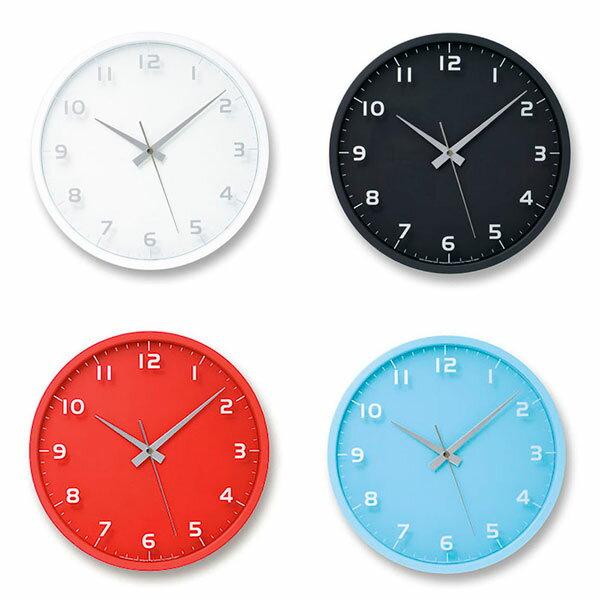 電波時計 置時計 掛け 置き 両用 壁掛け時計 壁掛け 見やすい 電波 置き時計 アナログ おしゃれ 掛け時計 ウォールクロック 音がしない 連続秒針 壁時計 置き掛け兼用時計 電波掛時計 掛時計 寝室 時計 北欧 モダン nine clock ナインクロック LC08-14W Lemnos レムノス
