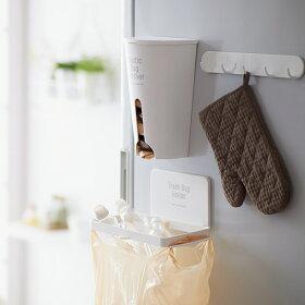 ゴミ袋ホルダーマグネットキッチンシンプル日本製磁石吸盤サニタリー折り畳みコンパクトゴミ箱ダストボックスおしゃれインテリア冷蔵庫洗濯機