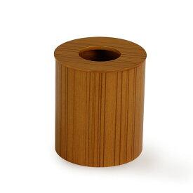 ゴミ箱 ふた付き 木製 おしゃれ キッチン ごみ箱 ふた かわいい ゴミ箱 ふた付き 北欧 くずかご リビング プライウッド ダストボックス 951 ドーナツ蓋 M チーク 蓋付き フタ付き 筒型 saito wood サイトーウッド ダイニング サニタリー カフェ