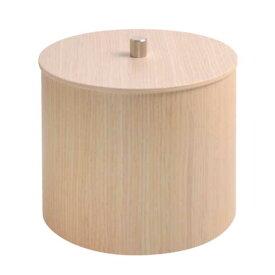 キャニスター 木製 小物入れ ふた付き 収納ボックス 筒形 コットンポット コットンケース キャンディボックス CANDY BOX 白木 おしゃれ 北欧 キッチン雑貨 カフェ プライウッド サイトーウッド saito wood