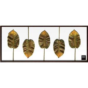 アートパネル リーフパネル リーフ 壁 アート 人工観葉植物 壁掛け アートフレーム アンティーク リーフアート パネル フレーム モダン アジア 北欧 壁飾り ウォールパネル 観葉植物 癒し 植