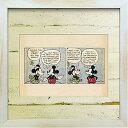 絵画 アートフレーム イラスト ディズニー ミッキー レトロ Disney 壁掛け 卓上 おしゃれ アンティーク風 カフェ アー…