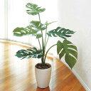 光触媒 観葉植物 ミニ モンステラ 高さ75cm フロアタイプ ミドルサイズ 人工観葉植物 アートグリーン フェイクグリー…