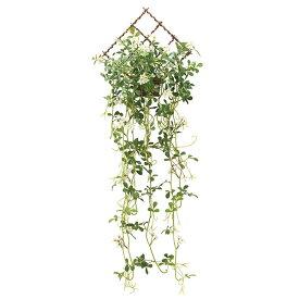 人工観葉植物 光触媒 壁掛け フェイクグリーン インテリア アートグリーン イミテーショングリーン イミテーション 植物 人工植物 高さ85cm 壁掛ジャスミン花付 消臭 抗菌 防汚 観葉植物