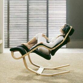 高機能チェア リラックスチェア ロッキングチェア ロッキングチェアー 木製 1人掛け 1人掛けチェア 椅子 いす イス 1P デザイナーズチェア デザイナーズ チェア Gravity グラヴィティ ブラック 黒 Varier ヴァリエール ビーチナチュラル/布張り ファブリック