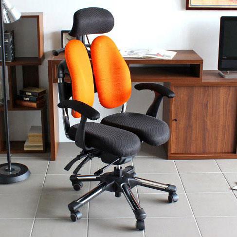 オフィスチェア パソコンチェア パソコンチェアー デスクチェア メッシュ おしゃれ オフィスチェアー リクライニング 骨盤矯正 椅子 姿勢 キャスター パソコン チェア オフィス 学習 北欧 健康チェア 多機能 HARA Chair ハラチェア Super Cier II スーパーシエル2