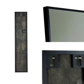 鏡壁掛け全身ミラー軽量アンティーク姿見おしゃれ全身ミラーホワイト壁掛けミラー日本製ブラックウォールミラー大型トイレ玄関大きい全身鏡白150cm壁貼り全身かがみ吊鏡飛散防止壁薄型スリムロング細枠スリムミラー壁面壁掛け鏡WM3215