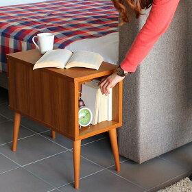 サイドテーブル北欧収納おしゃれベッドソファキャビネットaster300サイドテーブル