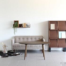 ハイテーブルダイニングテーブル楕円センターテーブルサイドテーブル日本製テーブル机ラウンドテーブルカフェテーブル食卓テーブル北欧モダンリビングテーブル高級感デスクウォールナットおしゃれglande-V1200×600楕円HT