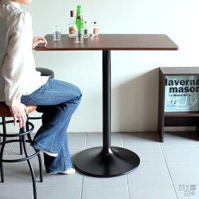 カウンターテーブルバーテーブルバーカウンターおしゃれカフェ風カフェテーブル高め90×60テーブルウォールナットチークハイテーブルスクエア型木製長方形北欧カフェバーナチュラルミッドセンチュリーデザイン家具モダンレトロUT4-900H・H