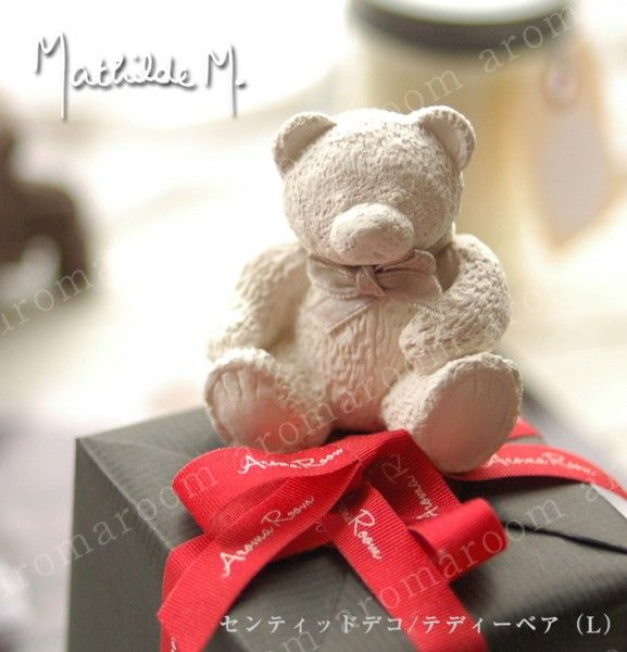 マチルドエム センティッドデコ/テディーベア(L) ヌヌルスセンティッドデコ フランスのブランドMathilde M  可愛い ギフト 女性 アロマグッズ 癒しグッズ レゼント フレグランス プレゼント 贈り物