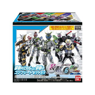 BANDAI 装動仮面 rider Rehmannia Root RIDE6 Feat. wound movement Kamen Rider build set ※Exclusive treasuring