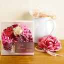 送料無料 母の日 ギフト プレゼント SolaFlower ソラフラワーリース 花 リース 淑やかで洗練されたダリアをイメージし…