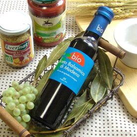 メンガツォーリ モデナ産 オーガニックバルサミコ酢(赤) 250ml【お取り寄せ商品】