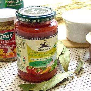 アルチェネロ 有機パスタソース トマト&香味野菜 350g【お取り寄せ商品】