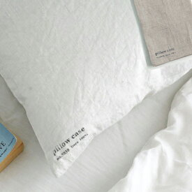 2枚で送料無料 fog linen work フォグリネンワーク リネンピローケース (枕カバー)リトアニアの 麻の心地よい枕カバー