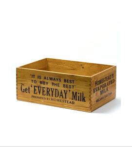 【木製品】大型ロゴBOX 猫 ねこ の 爪とぎ入れ インテリア おしゃれな ナチュラル ミルクボックス 収納 新聞 スリッパ リビングアメリカン雑貨 インダストリアル ブルックリンスタイル 西海