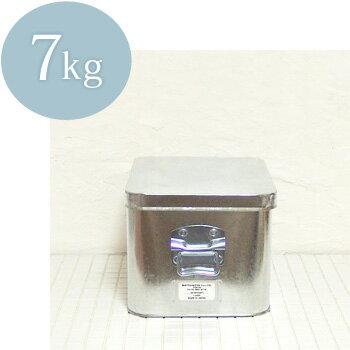 松野屋 トタン米びつ 7kg (ラッピング不可)