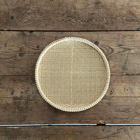 ベトナム盆ザル 小  竹製のざる 細やかな編み目の竹細工 収納 水切り 竹細工 和道具 民芸 手しごと