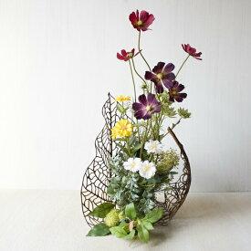 花瓶敷き 花びん敷き 花ビン敷き シルクフラワー花瓶置き 花びん置き 花ビン置き アートフラワー造花 アーティフィシャルフラワー フェイクグリーンアートリーフ フラワーアレンジ アレンジメントオオタニワタリ 1枚