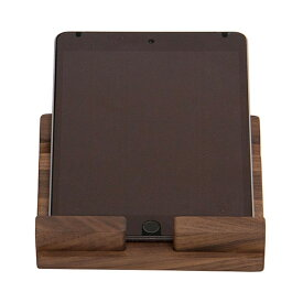 PADスタンド 木製 おしゃれ タブレット用スタンドiPadスタンド タブレット置き 天然木 インテリア雑貨木製タブレットスタンド スタンド PADホルダー充電しながらウォールナットLatree/ラトレナチュラルウッド タブレットスタンド ウォルナット
