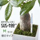sustee サスティー 水分計 植物用水分計 水やり名人スティック型水分計 インジケーター 水分感知器3.5号鉢 4〜6号鉢 …