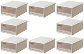天馬 フィッツケース リトル【お買い得8個セット】収納ケースといえばFitsケースリビング収納シリーズ