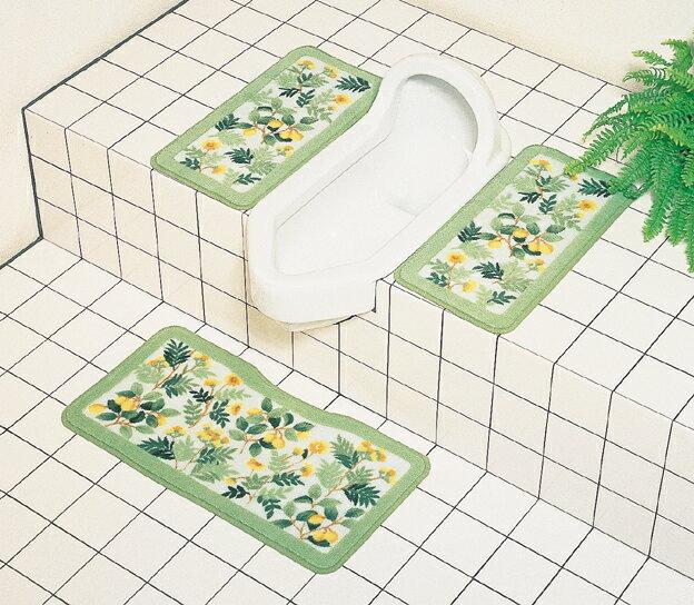 ハーバルマーケット洗える和式トイレマット〜オカ〜 トイレタリー 和式用マット