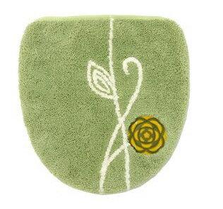 etoffe(エトフ)洗える、洗浄暖房専用フタカバーグリーン 〜オカ〜トイレタリー