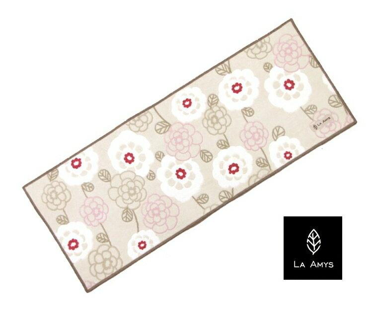 LA AMYS homeキッチンマット ボニート 45×180cm(ベージュ)〜オカ〜キッチン