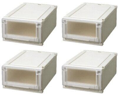【クーポン対象品】天馬 (Fits)フィッツユニットケース3520お買い得4個セット新しい発想と知恵が、「収納ケース」を一新しました。