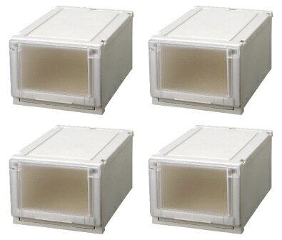 【クーポン対象品】天馬 (Fits)フィッツユニットケース3525お買い得4個セット新しい発想と知恵が、「収納ケース」を一新しました。