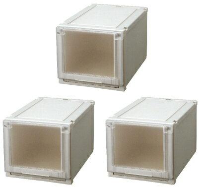 【クーポン対象品】天馬 (Fits)フィッツユニットケース3530お買い得3個セット新しい発想と知恵が、「収納ケース」を一新しました。