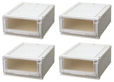 【クーポン対象品】天馬 (Fits)フィッツユニットケース4020お買い得4個セット新しい発想と知恵が、「収納ケース」を一新しました。