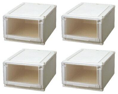 【クーポン対象品】天馬 (Fits)フィッツユニットケース4025お買い得4個セット新しい発想と知恵が、「収納ケース」を一新しました。