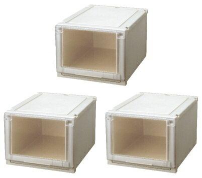 【クーポン対象品】天馬 (Fits)フィッツユニットケース4030お買い得3個セット新しい発想と知恵が、「収納ケース」を一新しました。