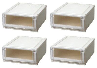 【クーポン対象品】天馬 (Fits)フィッツユニットケース4520お買い得4個セット新しい発想と知恵が、「収納ケース」を一新しました。