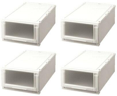【クーポン対象品】天馬 (Fits)フィッツユニットケース(L)3923お買い得4個セット新しい発想と知恵が、「収納ケース」を一新しました。奥行74cm(L)シリーズ。