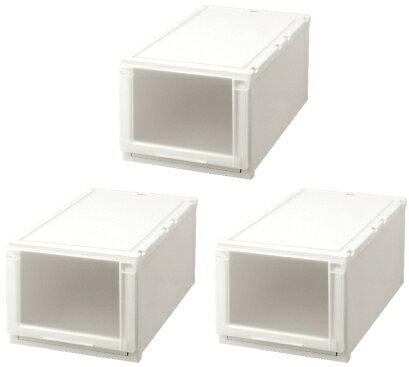 【クーポン対象品】天馬 (Fits)フィッツユニットケース(L)3930お買い得3個セット新しい発想と知恵が、「収納ケース」を一新しました。奥行74cm(L)シリーズ。