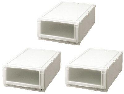 【クーポン対象品】天馬 (Fits)フィッツユニットケース(L)4423お買い得3個セット新しい発想と知恵が、「収納ケース」を一新しました。奥行74cm(L)シリーズ。
