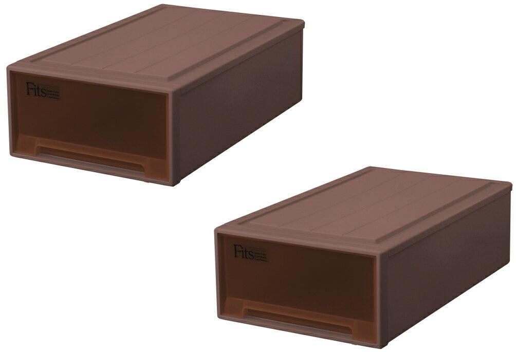 天馬 フィッツケース(ロングL)『2個セット』収納ケースといえばFitsケース 押入れ収納シリーズ