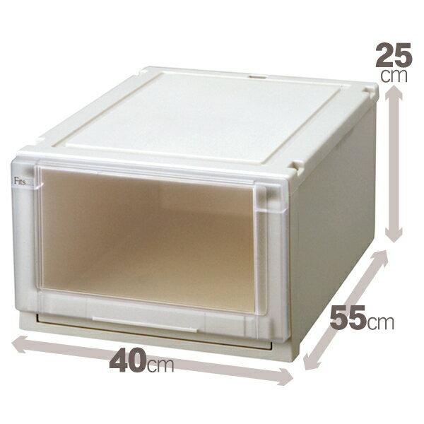 【クーポン対象品】天馬 (Fits)フィッツユニットケース4025 単品販売新しい発想と知恵が、「収納ケース」を一新しました。